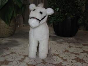 Dutch Holland Vintage White Plush Horse Flevo Toys