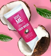 Give Me - Argan Oil & Coconut Oil Hair Mask Treatment - Sealed⚡Fast Dispatch⚡UK