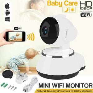 WiFi Wireless IP Camera Home Security CCTV Night Vision 1080P Baby Monitor