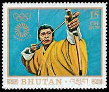 Scott # 147A - 1972 - ' 1972 Summer Olympics, Munich ', Archery