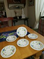 """Vintage Sear's Country French Ironstone 4453 Japan 6"""" Saucer"""