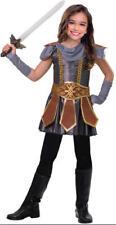 Girls Warrior Cutie Costume Childs Fancy Dress Kids Book Week Roman Gladiator Medium (age 11-12 Years)
