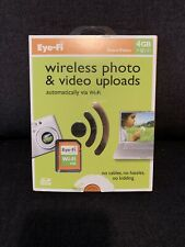 Eye-fi Share Video 4 GB SD card Wireless Photo Video Upload