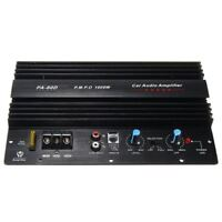 12V 1000W Mono Car Audio Power Amplifier Powerful Bass Subwoofers Amp PA80D H5K9