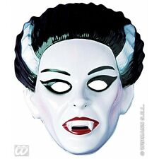 VAMPIRESS MASK PLASTIC Accessory for Vampire Dracula Halloween Fancy Dress