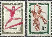 Timbres Sports Football Gymnastique URSS 3629/30 ** lot 15553
