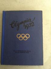 X. Olympische Spiele Los Angeles1932 1 Alben mit Ziegarettenbildern.(A)