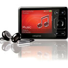 Creative Zen MX Black 8GB FM Radio Voice Recorder AAC WMA WAV MP3 Audible Player