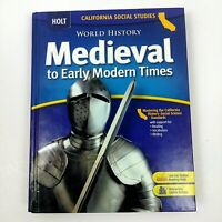 Holt Medieval To Early Modern Times California Student Edition Text Book 2006