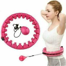 Smart Hula-Hoop 24Knots Detachable Massage Exerciser Fitness Belly Fat Burning