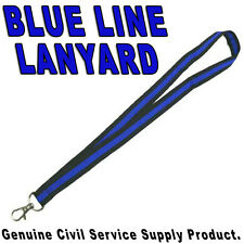Thin Blue Line Police LEO Lanyard