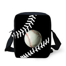 Ball Sports Shoulder Crossbody Messenger School Bag Fashion Lightweight Purse