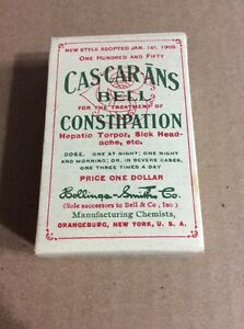 PRE 1910 ANTIQUE APOTHECARY MEDICINE ADVERTISING #20- Cascarans Bell