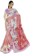 mousseline Bollywood Carnaval SARI ORIENT INDE fo406