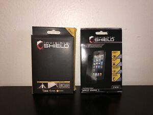 ZAGG Invisible Shield Screen Protector for iPhone 5 & Sony Xperia Ion - Set of 2