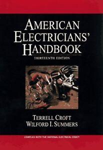 American Electricians' Handbook Terrell Croft