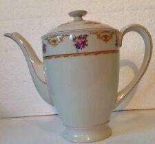 Vintage Hutschenreuther Hohenberg EVEYLN Germany Bavaria Large Coffee Pot Floral