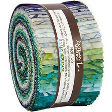 Robert Kaufman Artisan Batiks Jelly Roll up Terrace Lunn Fabrics Strips