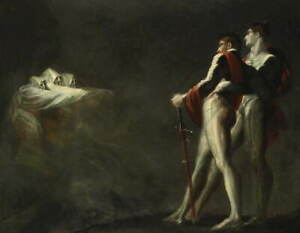 Henry Fuseli The three witches appearing to macbeth Giclee Paper Print Poster