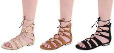 Damen-Sandalen mit Blockabsatz aus Kunstleder normale Weite (E) f��r die Freizeit