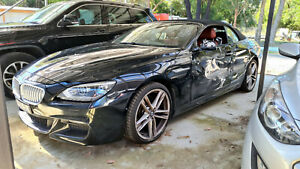 BMW 6 Series 650i Black Auto MY14 Convertable Car Tourer Vehicle 2014