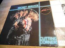 SECRET SERVICE CUTTING CORNERS 1982 SONET GRAMMOFON AB. SWEDEN NCB 10 TRACKS OOP