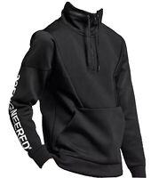 46 Air Jordan Flight NIKE Sportswear Tech Lite SM Mens Zip Top AO0408-010 Black