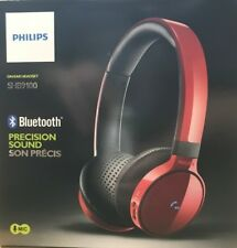 Philips - SHB9100 - Bluetooth Stereo Headset - Red