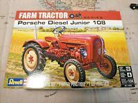 REVELL PORSCHE DIESEL JUNIOR 108 FARM TRACTOR MODEL KIT 1/24 SCALE