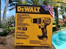 """Dewalt DCD791B 2 Speed 1/2"""" 20v Max XR Brushless Drill Driver"""