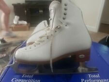 Riedell Motion Figure Skates, Size 5.5 With Eclipse Cosmos Blade