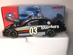 Action 2003 Stock Car Pittsburg Steelers 1:24 Inaugural year 2003 Lot #157