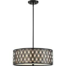 Quoizel Boutique Pendant, 4 Light, Mystic Black - Mcbq2822K