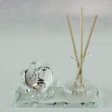 DLM24780-trasparente Profumatore in vetro soffiato per 50 Anniversario_Trasparen