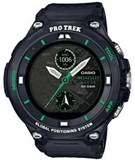 2017 New CASIO Smart Outdoor Watch ProTrek Smart GPS with WSD-F20X-BK Men's
