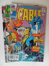 3x US Comic Flashback - Wolverine-Cable-Elektra Zustand 1/1-