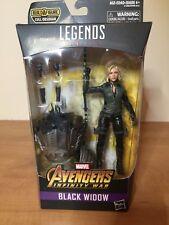 Marvel Legends BLACK WIDOW Avengers Infinity War CULL OBSIDIAN BAF - NEW!