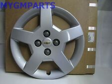 "CHEVY COBALT SILVER 5 SPOKE 15 "" HUB CAP 2005-2008 NEW OEM  9595091"