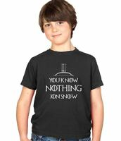 You Know Nothing Jon Snow - Kids Tee Boys & Girls Childs T-Shirt