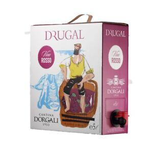 Bag in Box vino rosso sfuso 5l 14° Cannonau di Sardegna Dorgali