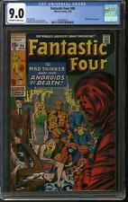 Fantastic Four #96 CGC 9.0 (OW-W)