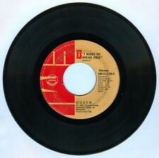 Philippines QUEEN (Freddie Mercury) I Want To Break Free 45 rpm Record