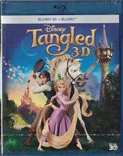 Tangled _ Blu-Ray 3D + 2D Blu-Ray _ Disney _ NEW _ UNOPENED