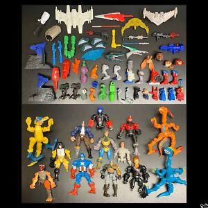 SUPER HERO MASHERS Parts Lot-Star Wars, Transformers, Marvel, DC, Jurassic World