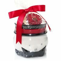 Yankee Candle Jack Frost Snowman Wax Melt Tart Warmer Includes 3 Scented Tarts