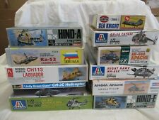 Lot #5 11 Helicopters in 1/72 scale