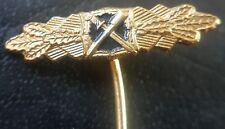 ✚8039✚ German post WW2 1957 pattern Close Combat Clasp Badge miniature pin badge