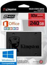 """Fast SSD Hard Drive Brand New Kingston 240GB 2.5"""" SATA,Windows 10 Pre Install"""