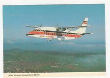 Jersey European Airways Short SD360 Aviation Postcard, B006