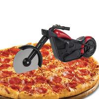 New Pizza Wheel Cutter Motorcycle Modle Blade Hand Chopper Slicer Kitchen Gadget